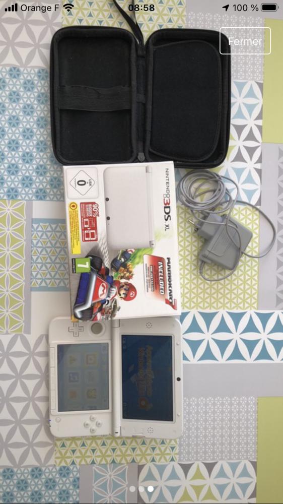 Nintendo 3DS XL blanche 95 Œting (57)