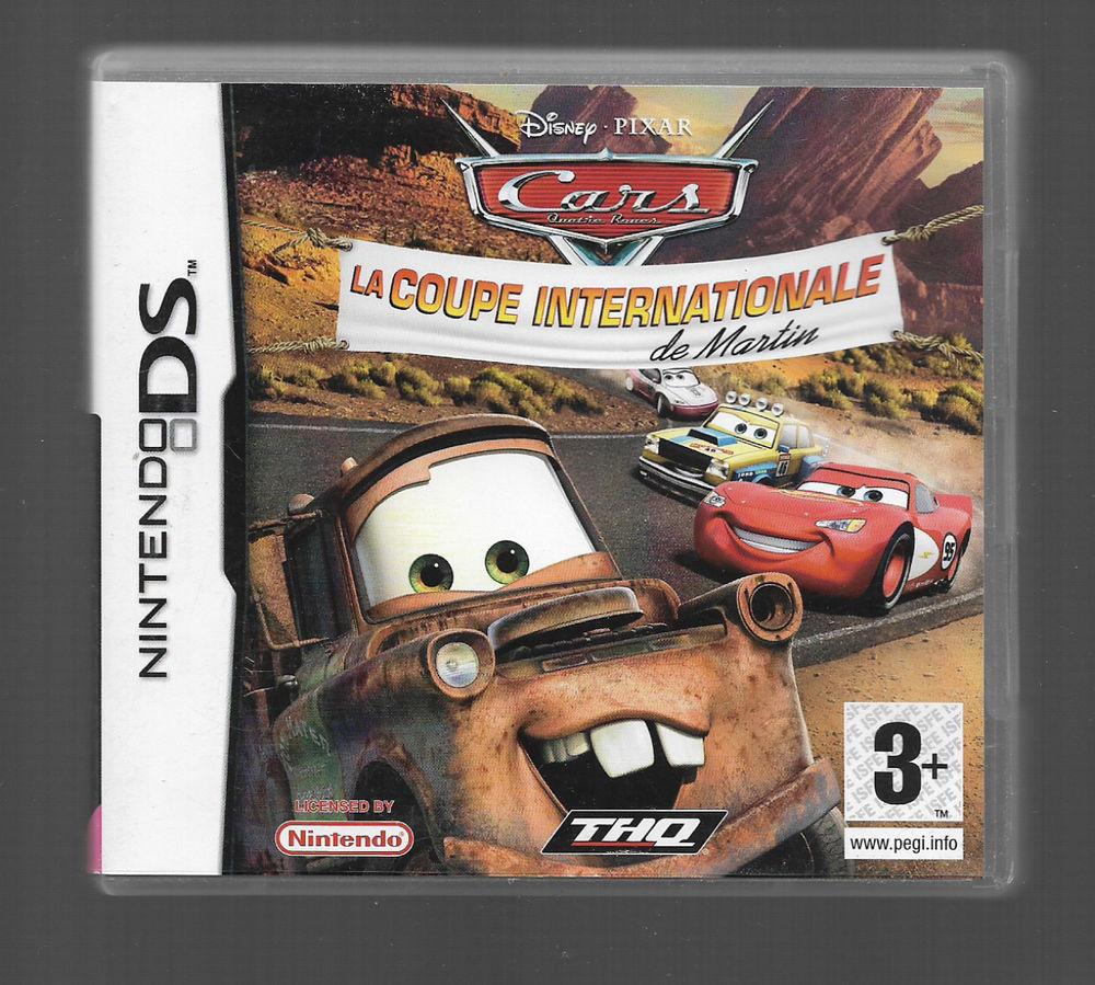 Nintendo DS Cars la coupe internationale 8 Martigues (13)
