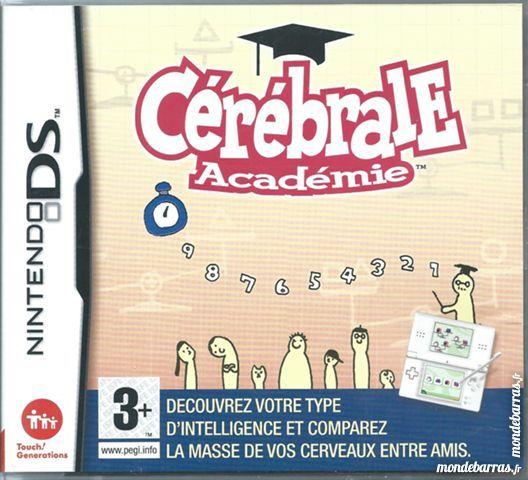 Jeu Nintendo DS Cérébrale Académie (26) 20 Tours (37)