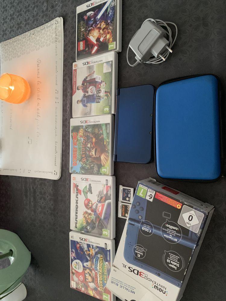 Nintendo 3ds xl+7 jeux + housse + chargeur 160 Massy (91)