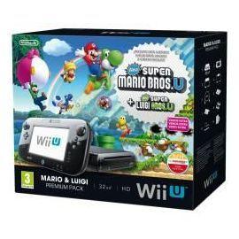 Nintendo WII U Mario & Luigi Premium Pack 32 Go 150 Égly (91)