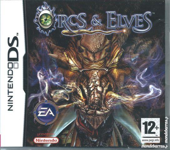 Jeu Nintendo DS  Orcs & Elves  (26) 20 Tours (37)