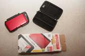 Nintendo 3ds xl rouge/noir + circle pad pro + housse 110 Mérignac (33)