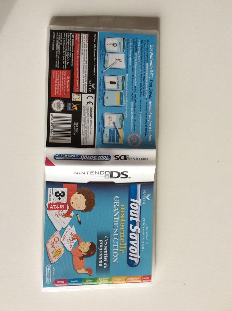 Nintendo DS jeu vidéo Tout savoir maternelle grande section  20 Paradou (13)