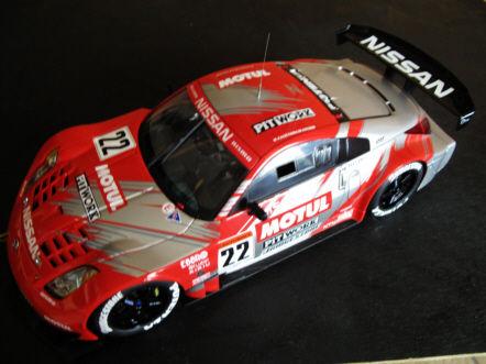 Nissan 350Z GT Nismo n°22 Motul Pitwork- Suzuka 04 JGTC 1/18 100 Toulouse (31)