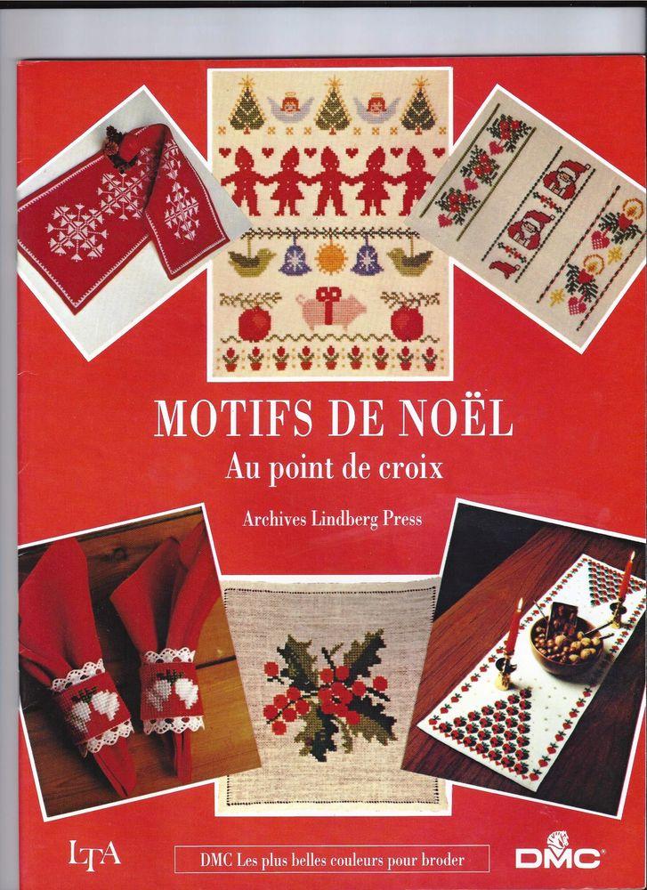 NOËL POINT DE CROIX DMC Motifs de Noël 10 Bois-Colombes (92)