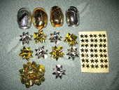 NOEL : Rouleaux bolduc+étoiles paquet cadeaux-NEUF 4 Antony (92)