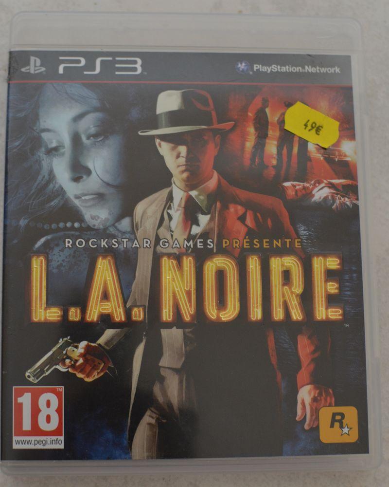 jeu  L.A. NOIRE   PS3 4 Bezons (95)