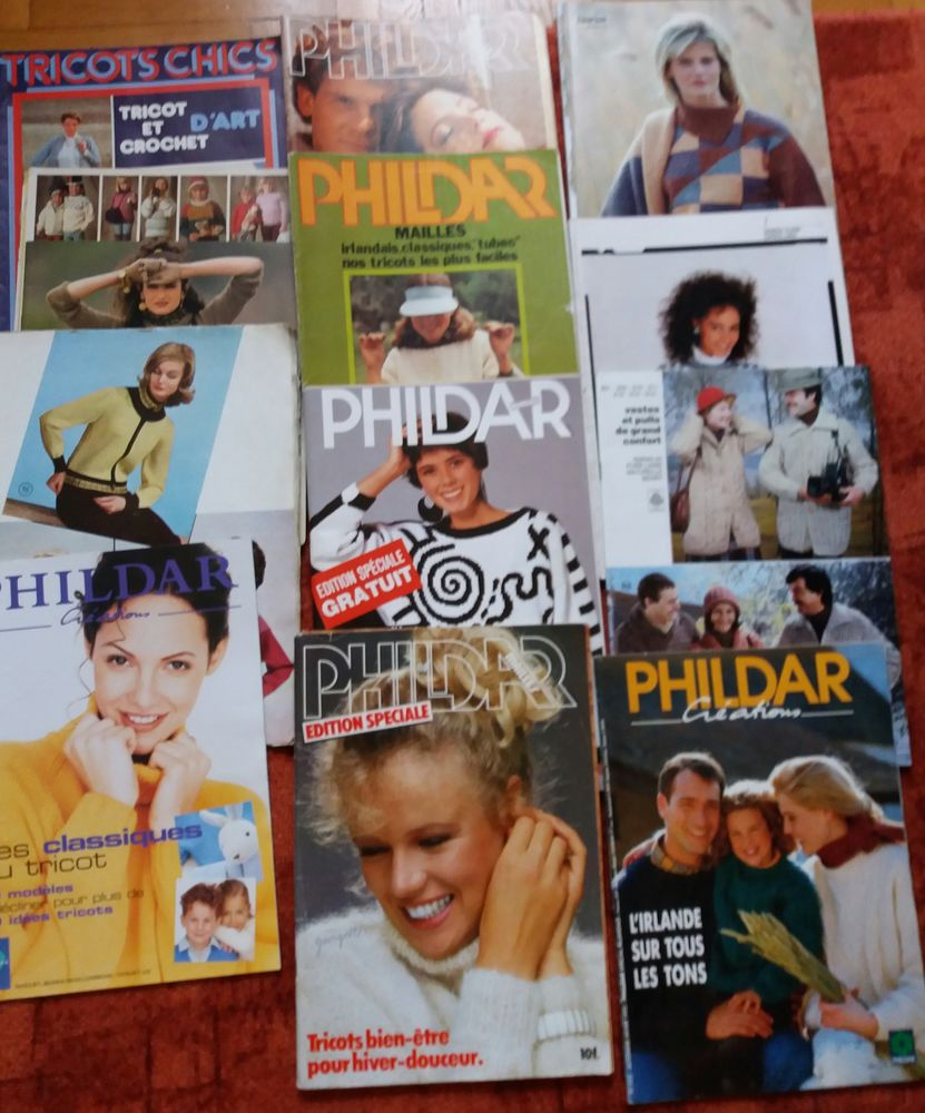Nombreuses revues de tricot 0 Le Plessis-Bouchard (95)