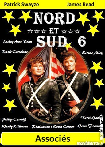 K7 Vhs: Nord et Sud 6 (425) DVD et blu-ray