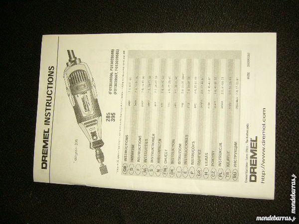Notice d'utilisation ponceuse DREMEL 2 Versailles (78)