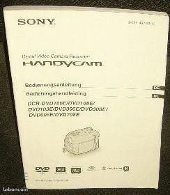 Notices d'installation camescope sony DCR-DVD et DCR-DVD106E 3 Versailles (78)