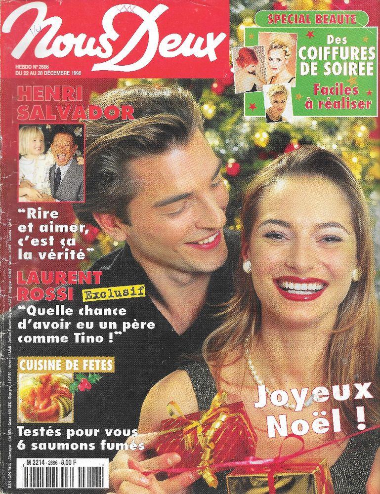 NOUS DEUX Magazine n°2686 1998  Henri SALVADOR  2 Castelnau-sur-Gupie (47)