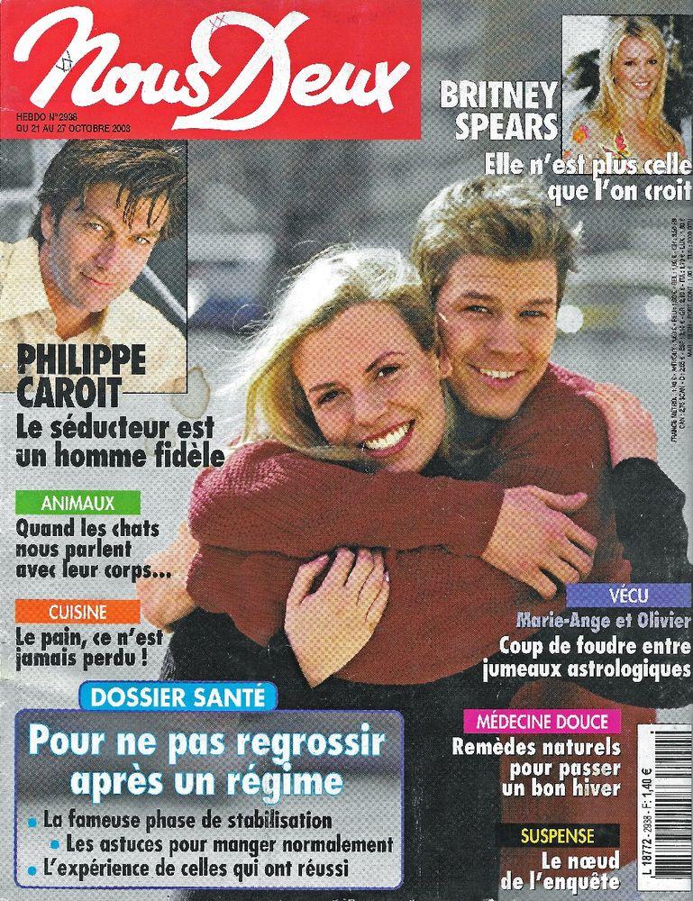 NOUS DEUX Magazine n°2938 2003  Britney SPEARS  2 Castelnau-sur-Gupie (47)