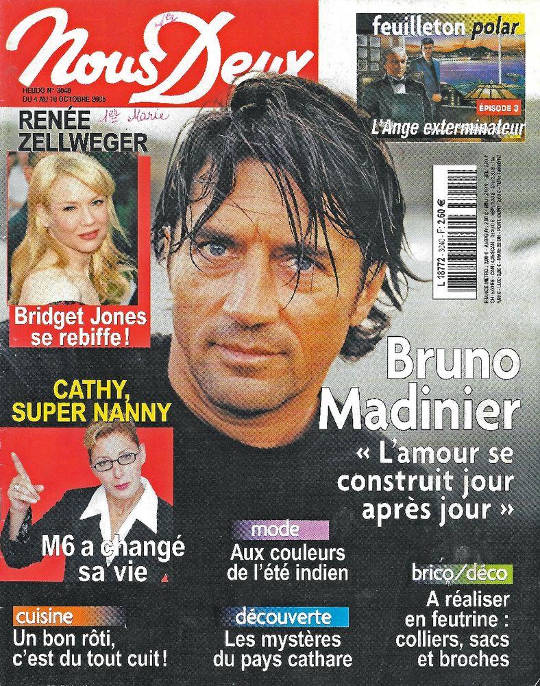NOUS DEUX Magazine n°3040 2005  Renée ZELLWEGER 2 Castelnau-sur-Gupie (47)