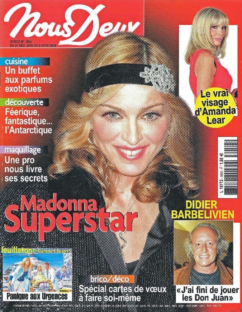 NOUS DEUX Magazine n°3052 2005  Didier BARBELIVIEN  2 Castelnau-sur-Gupie (47)