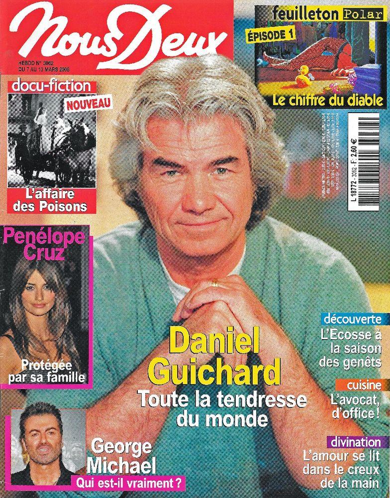 NOUS DEUX Magazine n°3062 2006  Penelope CRUZ  2 Castelnau-sur-Gupie (47)
