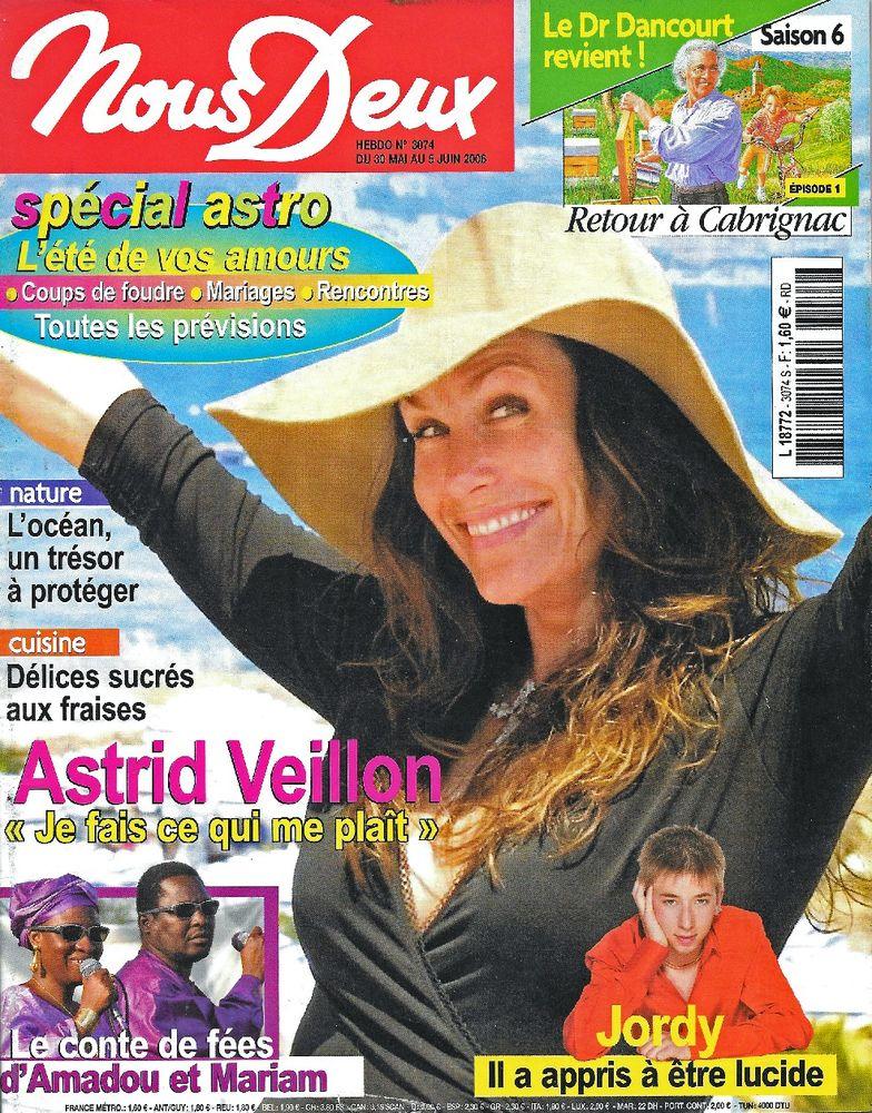 NOUS DEUX Magazine n°3074 2006  Astrid VEILLON  2 Castelnau-sur-Gupie (47)