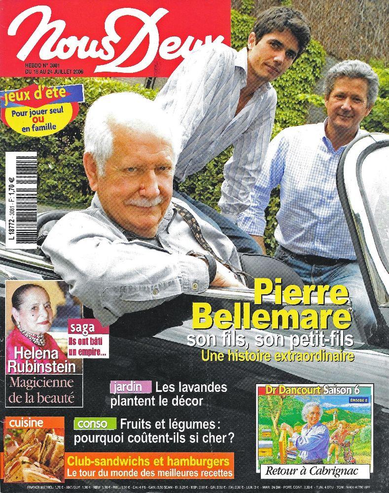 NOUS DEUX Magazine n°3081 2006  Helena RUBINSTEIN  2 Castelnau-sur-Gupie (47)