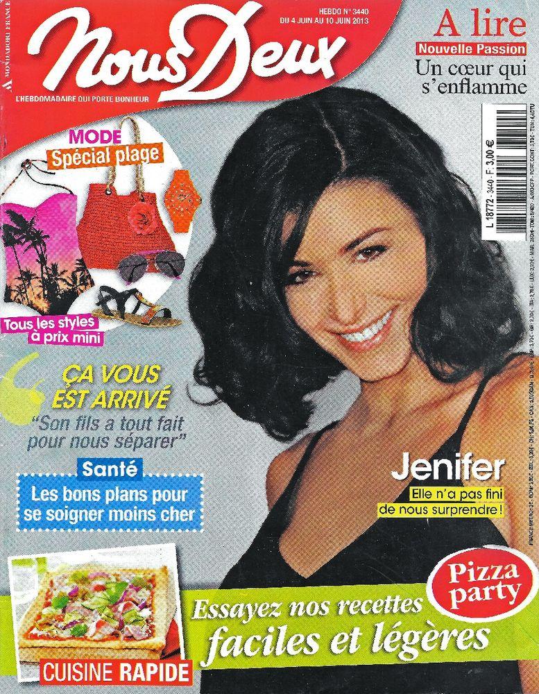 NOUS DEUX Magazine n°3340 2013  JENNIFER 2 Castelnau-sur-Gupie (47)