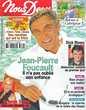 NOUS DEUX Magazine n°3075 2006  Jean-Pierre FOUCAULT