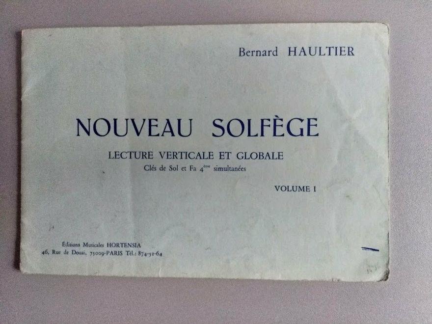 NOUVEAU SOLFEGE   - VOLUME 1 3 Saint-Jean (31)