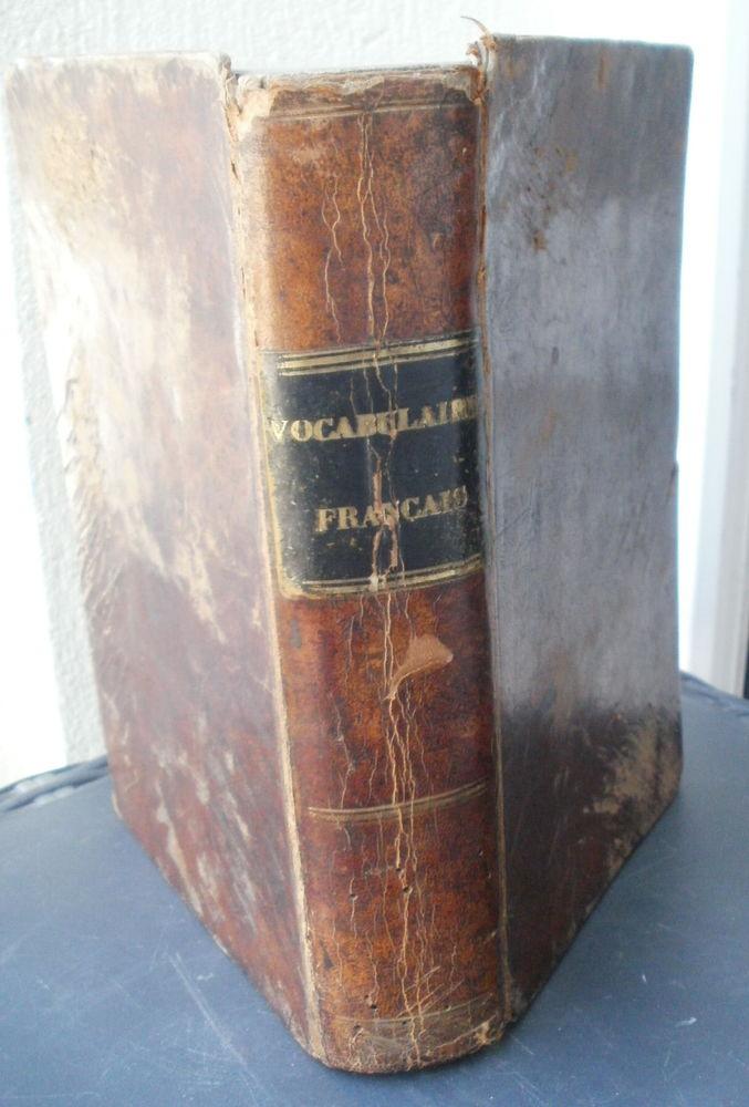 NOUVEAU VOCABULAIRE DE LA LANGUE FRANçAISE 1851 12 Montauban (82)