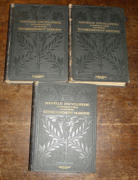 Nouvelle encyclopédie autodidactique illustrée Livres et BD