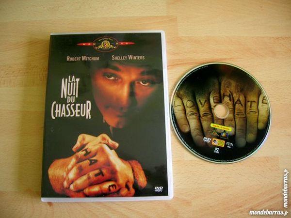 DVD LA NUIT DU CHASSEUR - R. Mitchum/Sh.Winters 14 Nantes (44)