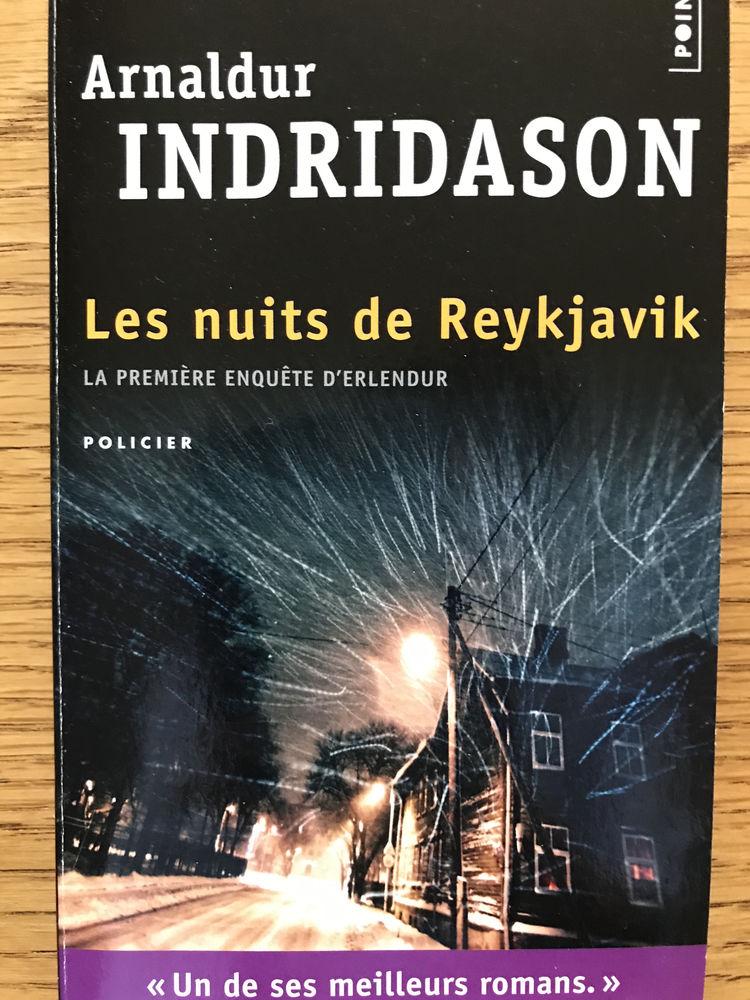 Les nuits de Reykjavik - Arnaldur INDRIDASON 3 Levallois-Perret (92)