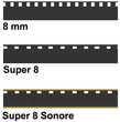 Numérisation de films Super 8, 8 mm, 9.5mm, 16mm et 35mm