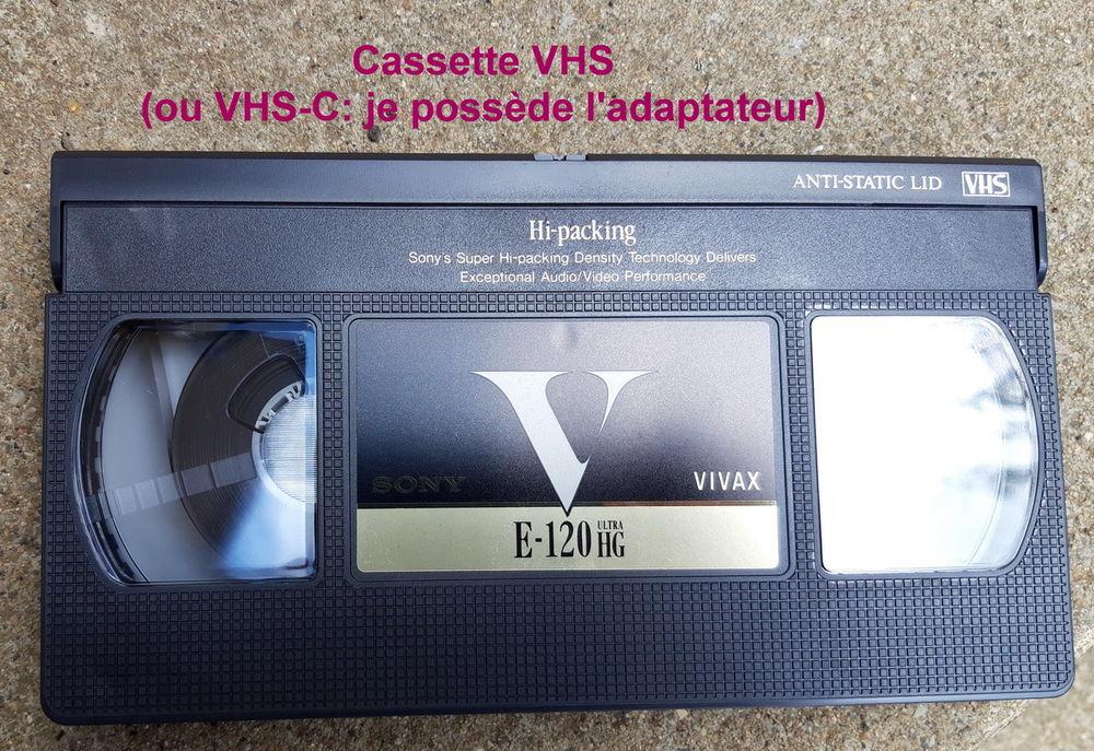 NUMÉRISEZ VOS CASSETTES VIDÉO VHS, VHS-C, 8mm,PHOTOS-etc 8 Saint-Pierre-la-Palud (69)