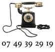Numéro de téléphone VIP 07 49 39 29 19 facile à retenir 200 Morzine (74)