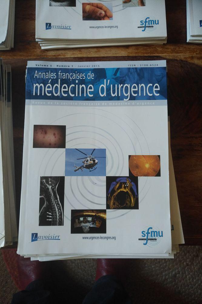 Lot de 39 numéros: Annales françaises de médecine d' 20 Pantin (93)