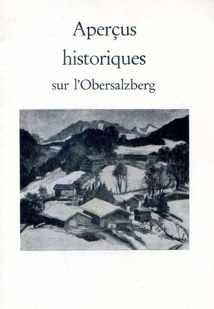 OBERSALZBERG - Aperçus historique, 5 Rennes (35)