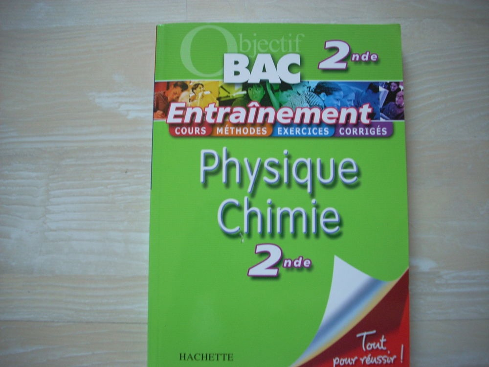 Objectif BAC 2nde Physique Chimie 2nde Livres et BD