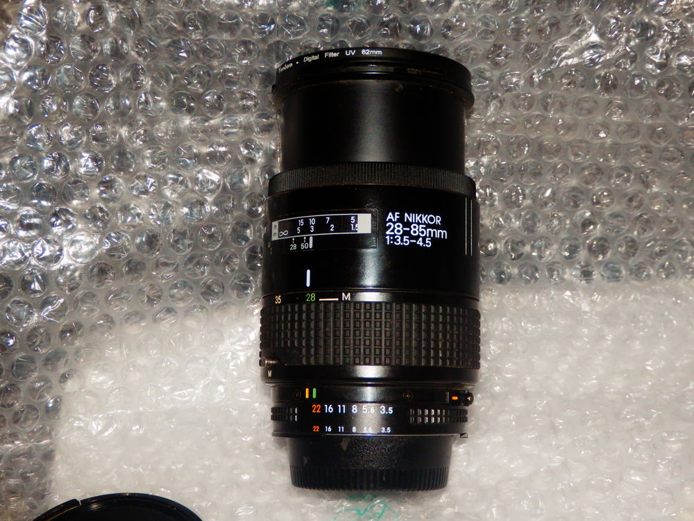 Objectif 28-85mm f/3.5-4.5 Zoom-Nikkor en très bon état. Fi 90 Mérignac (33)