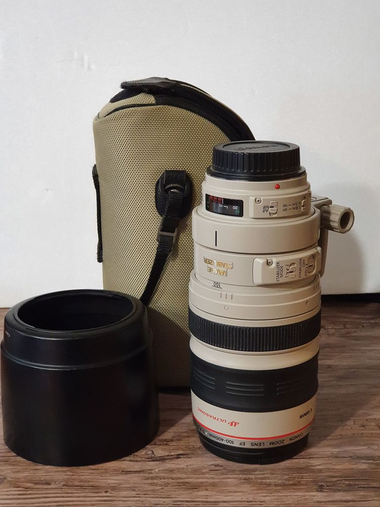 Objectif Canon EF 100-400mm f/4.5-5.6L IS I USM Photos/Video/TV