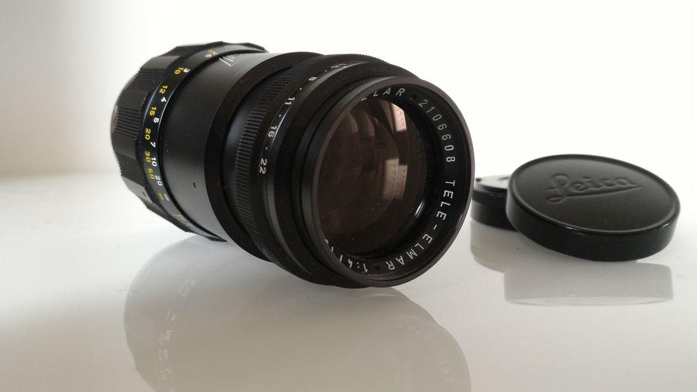 Objectif LEICA M Tele Elmar 135mm 650 Gometz-la-Ville (91)