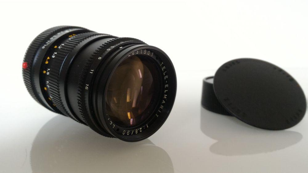 Objectif LEICA M TELE-ELMAR 1:2.8 / 90 mm 550 Gometz-la-Ville (91)