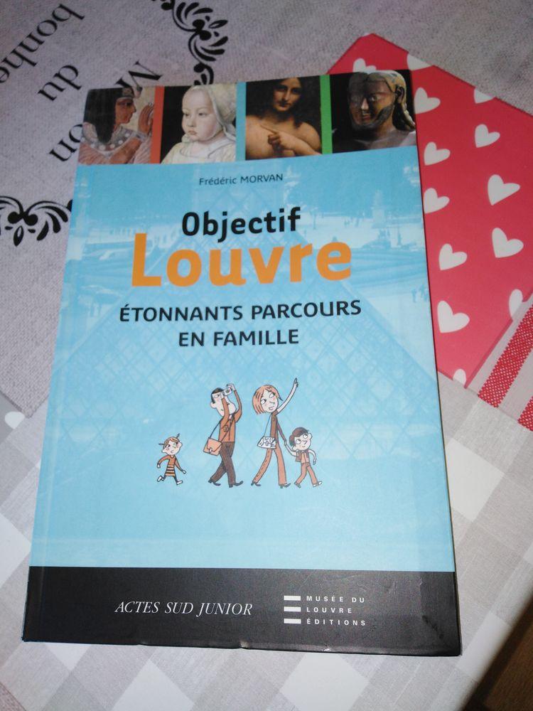 Objectif LOUVRE  étonnants parcours en famille  de F.Morvan Livres et BD