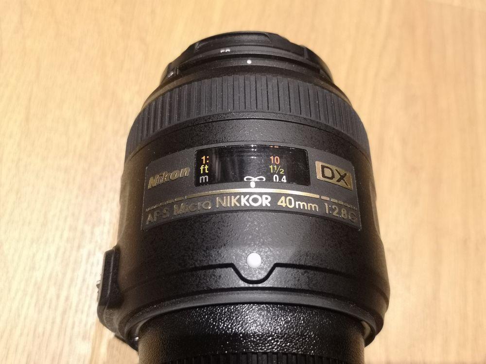 Objectif Nikon AF-S Miccro 40mm 1:2.8G 250 La Salle les Alpes (05)