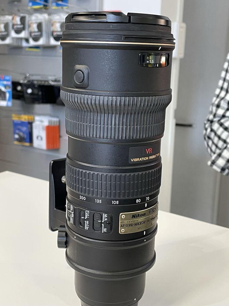 Objectif Photo pro ? Nikkor AF-S - VR1 ? Zoom ? 70/200 mm ?  550 Lyon 2 (69)