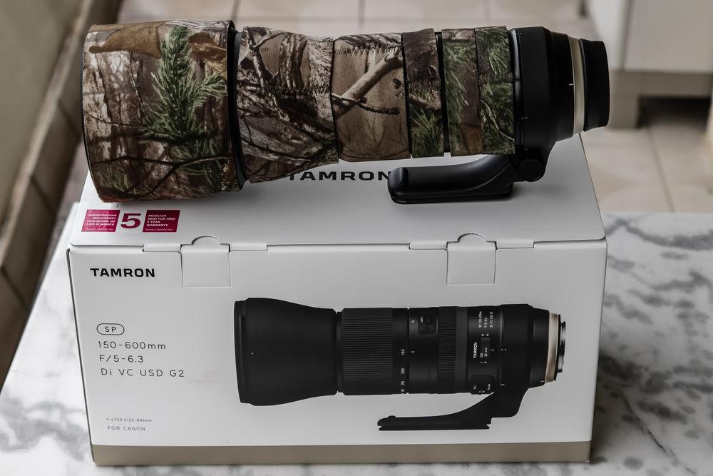 Objectif Tamron 150-600 G2 monture canon 1200 Grasse (06)