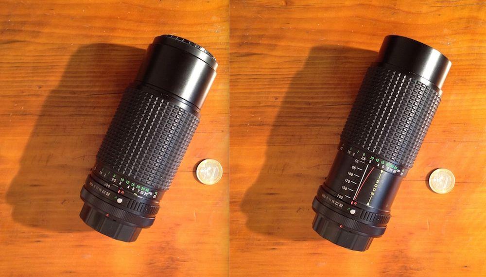OBJECTIF ZOOM MAGNON 75 ? 200 mm + cache objectif Photos/Video/TV