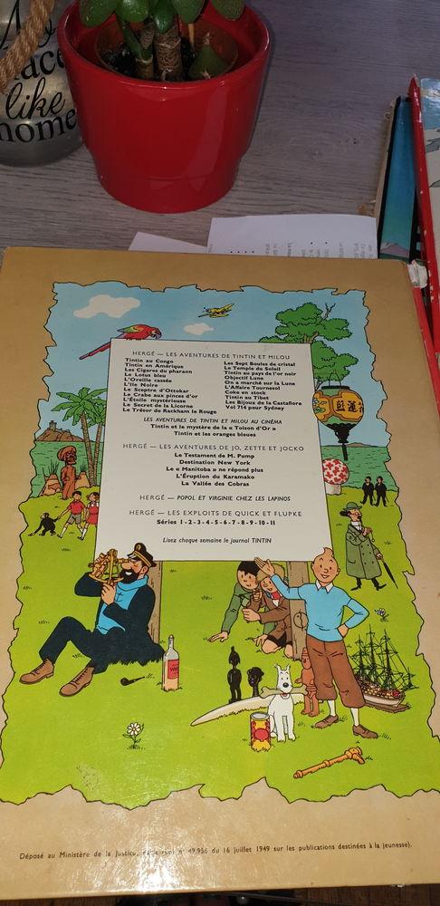 objet.je des BD Tintin 0 Paris 18 (75)