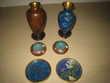 objets chinois cloisonnés 45 Brignoles (83)