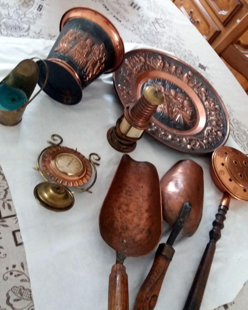 Objets en cuivre 1 Le Plessis-Bouchard (95)