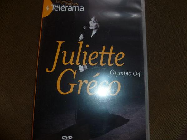 DVD OCCASION JULIETTE GRECO OLYMPIA 04 3 Saint-Quentin (02)