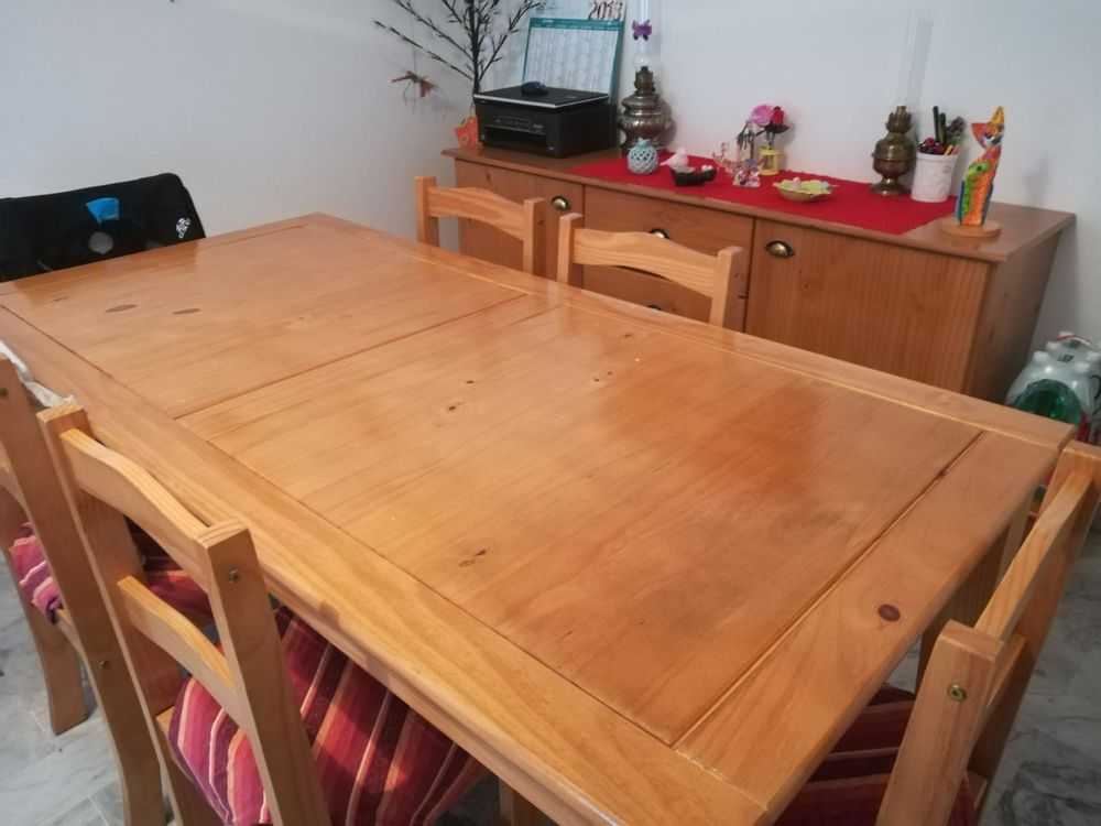 °° OCCASION : TABLE + CHAISES 200 Menton (06)